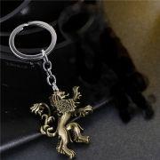 Chaveiros Game of Thrones Targaryen Dragão Stark Direwolf Leão Lannister