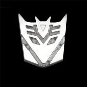Emblema Decalque 3D Autobot Decepticons Transformers Energia Solar para Carro Automóvel