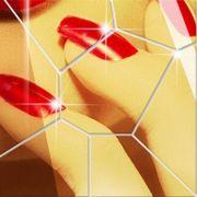 Espelho adesivo de parede acrílico 3D DIY Mural Formas Geométricas
