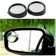Espelho retrovisor convexo para motorista enxergar mais ao redor do carro