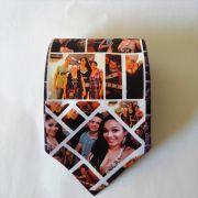 Gravata Personalizada com Foto logo ou tema