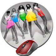 Mouse Pad Redondo Personalizado 20cmx2mm