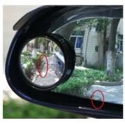 Par Espelho retrovisor convexo para motorista ampla visão ao redor do carro elimina ponto cego