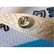 Piercing para decorar Chinelo e Sandália 2 unid Pedra Cristal Oktant Swarovski banhado a ouro