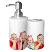 Porta Escova e Saboneteira Personalizado