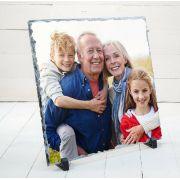 Porta Retrato de Pedra Quadrada 20x20cm Personalizada