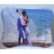 Porta Retrato Quebra-Cabeça 63pçs 25x20cm Personalizado