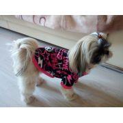 Roupa Lã Quente Cão do Animal de Estimação do Filhote de Cachorro Pet Amor Paz