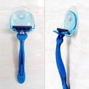Suporte de ventosa para barbeador azul deal para box blindex e espelho
