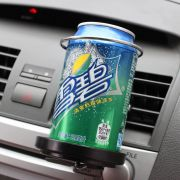 Suporte para lata/garrafa Universal para saída de Ar Condicionado do carro dobrável