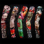 Tatuagem falsa meias imitação de Tattoo para braço tecido em nylon