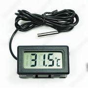 Termômetro Digital Sonda para Aquário com Display LCD