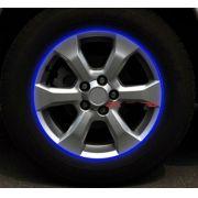 Tiras reflexivas adesivas 3M fita reflexiva para roda de Carro Moto Bicicleta