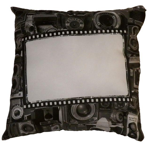 Capa de Almofada Câmera Vintage Personalizada com foto