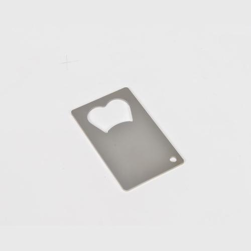 Abridor de garrafas Chaveiro em Alumínio Cinza Personalizado