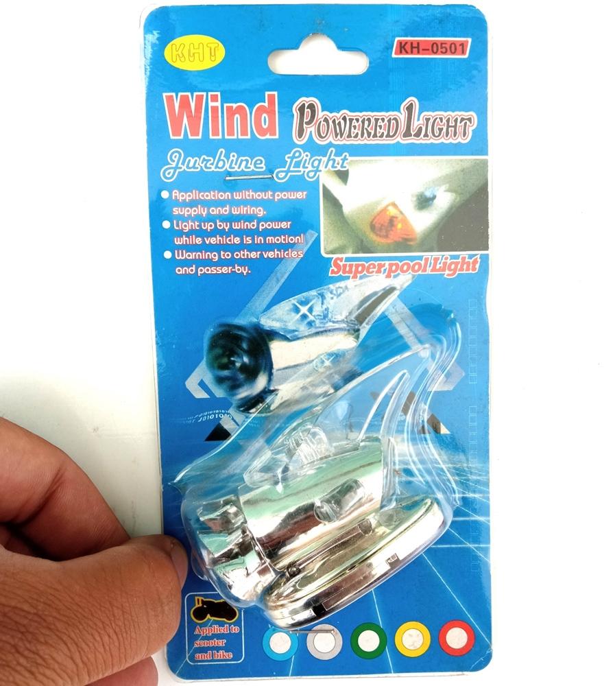 Antena Barbatana de Tubarão Energia Eólica Acende LED Acessórios para Carro Veículo Moto