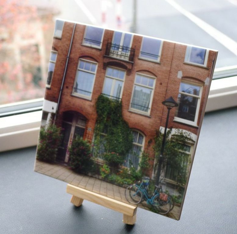 Azulejo 15x15cm Cerâmica Personalizado com foto tema