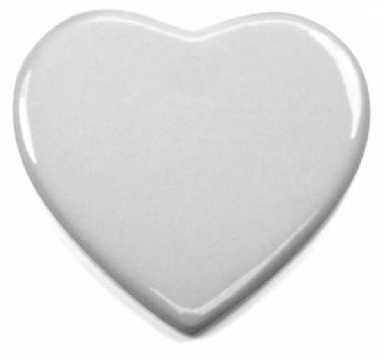Azulejo Coração personalizado 10cm