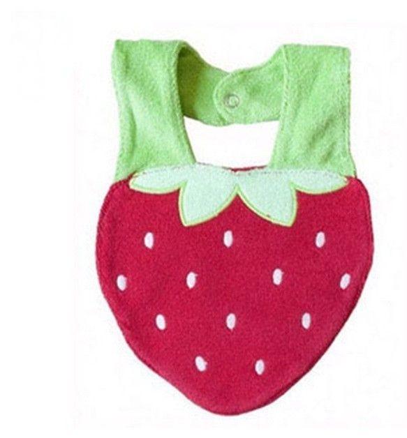 Babador do Bebê Menino Menina Infantil Estampa de Animais Bordado 3D