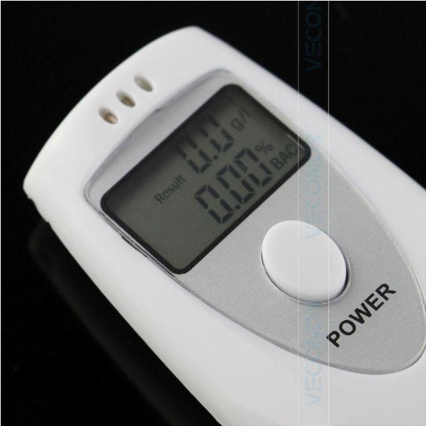 Bafômetro Digital Profissional analisador detector de álcool da respiração