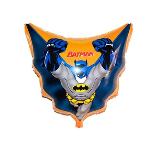 Balão de Aniversário Metalizado Batman do Filme Desenho Super Herói