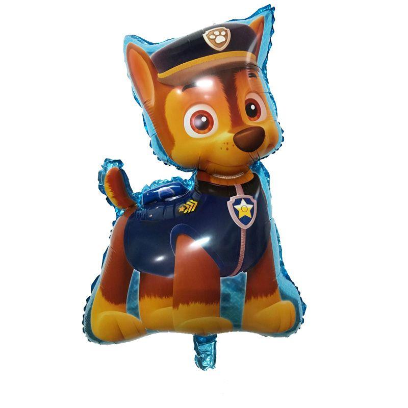 Balão de Decoração de Festa Aniversário CHASE Patrulha Canina