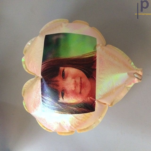 Balão de Pelicula de Aluminio Tamanho A4 Personalizado