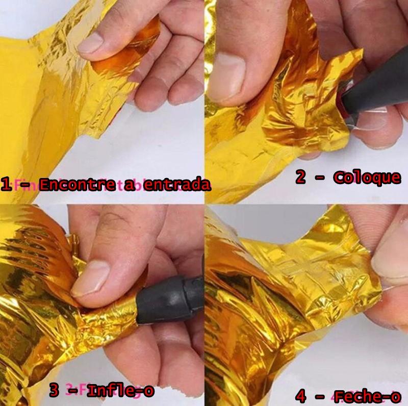 Balão Inflável Foil Alumínio dos Minions Meu Malvado Favorito Tamanho Grande