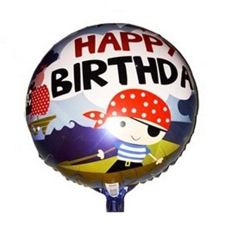 Balão Redondo Feliz Aniversário Happy birthday Decoração Festa