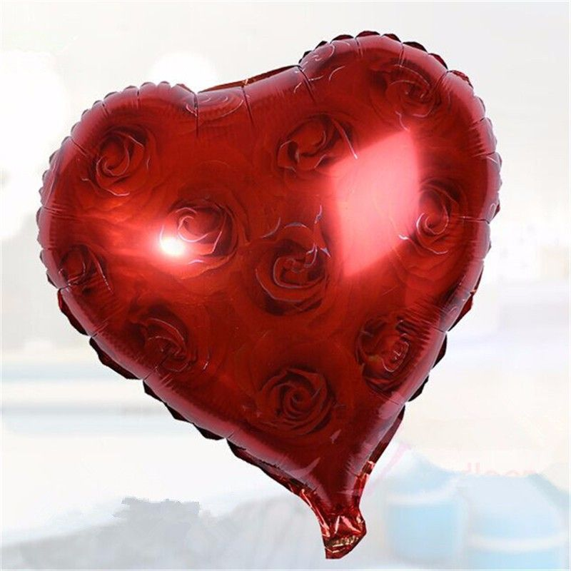 Balões de Festa Metalizado Decoração de Casamento Coração Noiva e Noivo