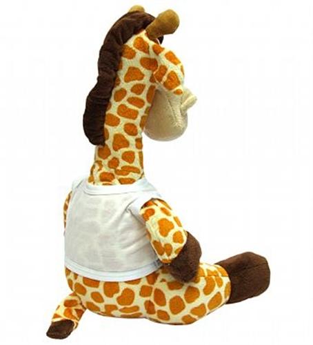Bicho de Pelúcia Girafa Personalizado