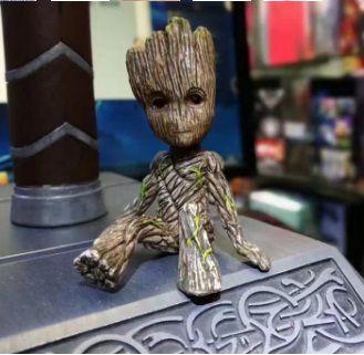 Boneco Bebê Mini Groot do Filme Guardiões da Galáxia 2 Marvel