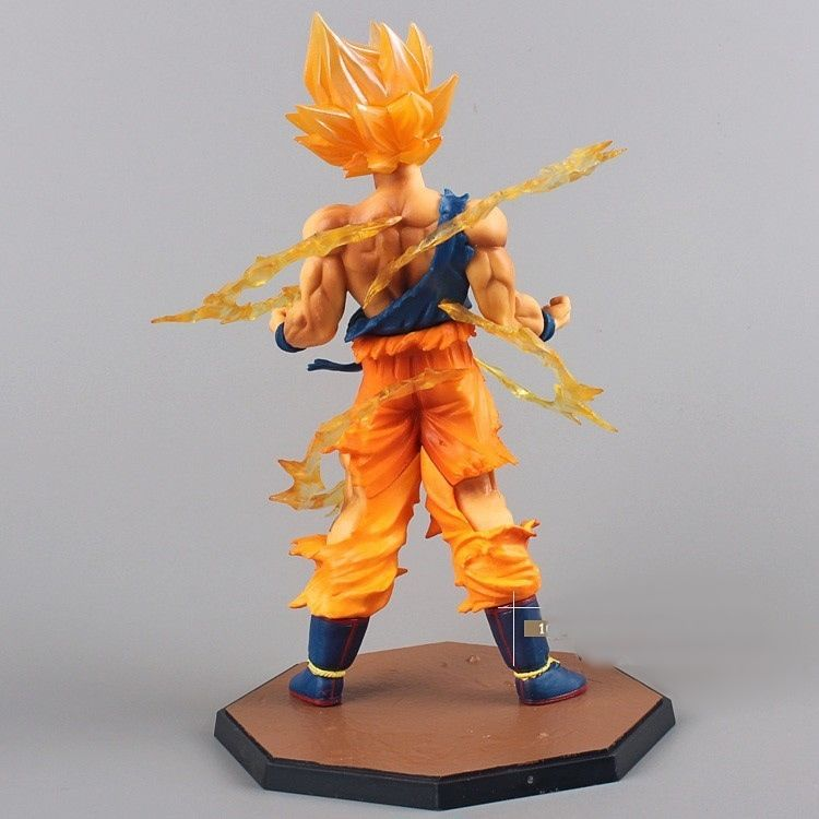 Boneco PVC do Anime Goku Super Saiyan do Dragon Ball Z  Brinquedo
