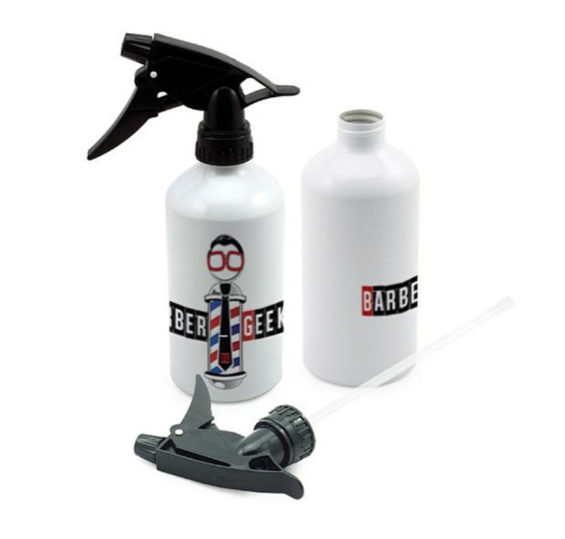 Borrifador Spray de Alumínio Branco Personalizado