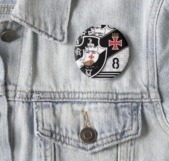 Broche Botton Pin 3 unid Personalizado de Times Clubes Torcidas Seleções favorito