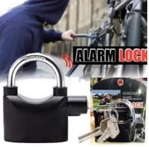 Cadeado para motos Tranca a Melhor Trava de Segurança com Alarme para Motos Alarm Lock