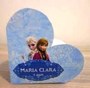 Caixinha embalagem Coração papel cartão Personalizada