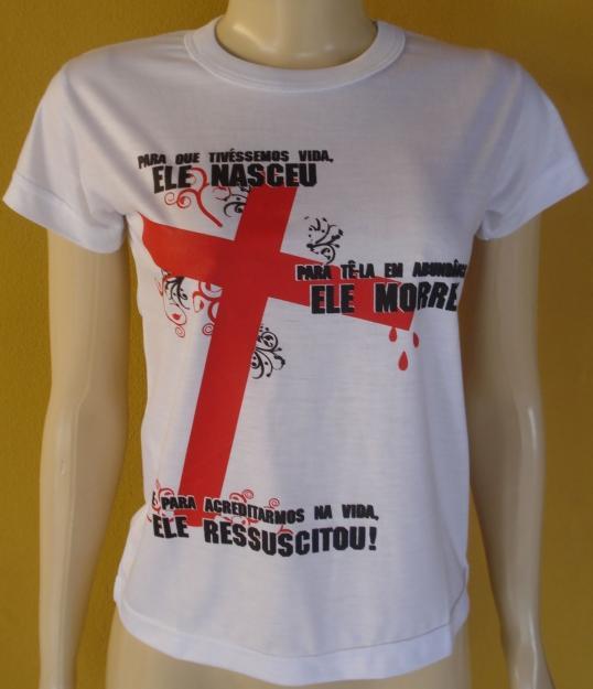 e4ce3f6db7 Camisa Baby Look Malha Fria Personalizada - LRF Brindes e Presentes  Personalizados ...