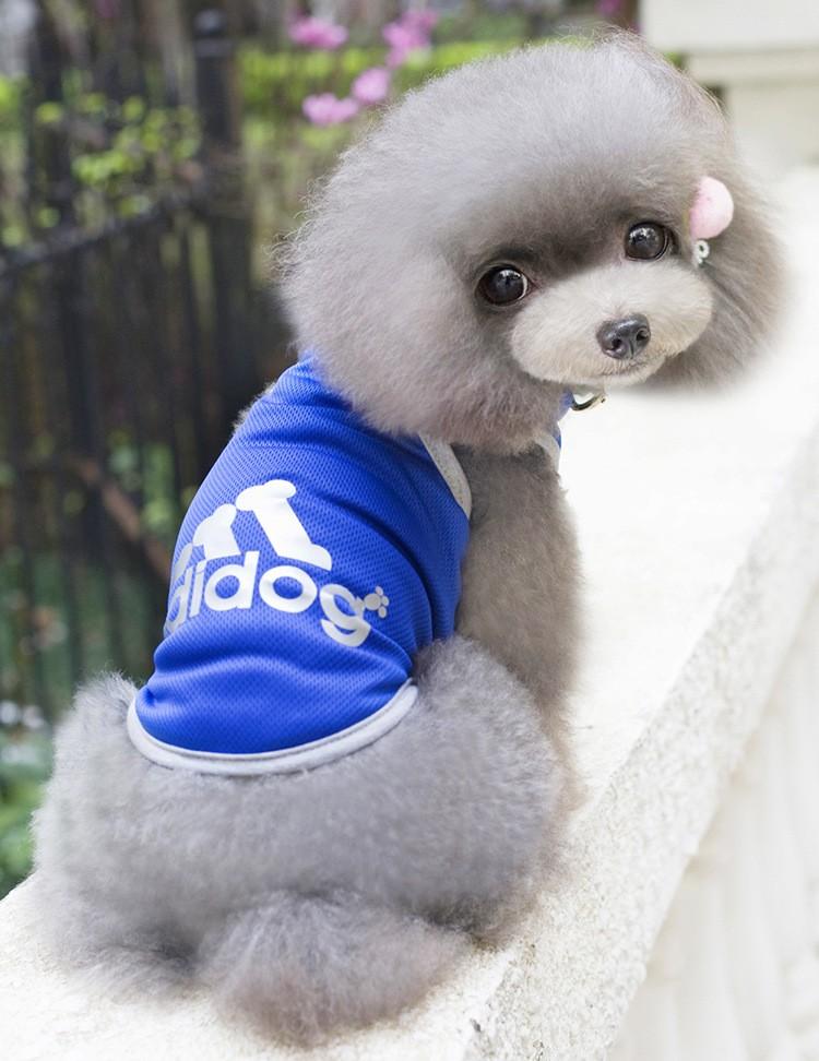 Roupa Camisa Colete Cão Cachorro de Estimação PET Traje Respirável