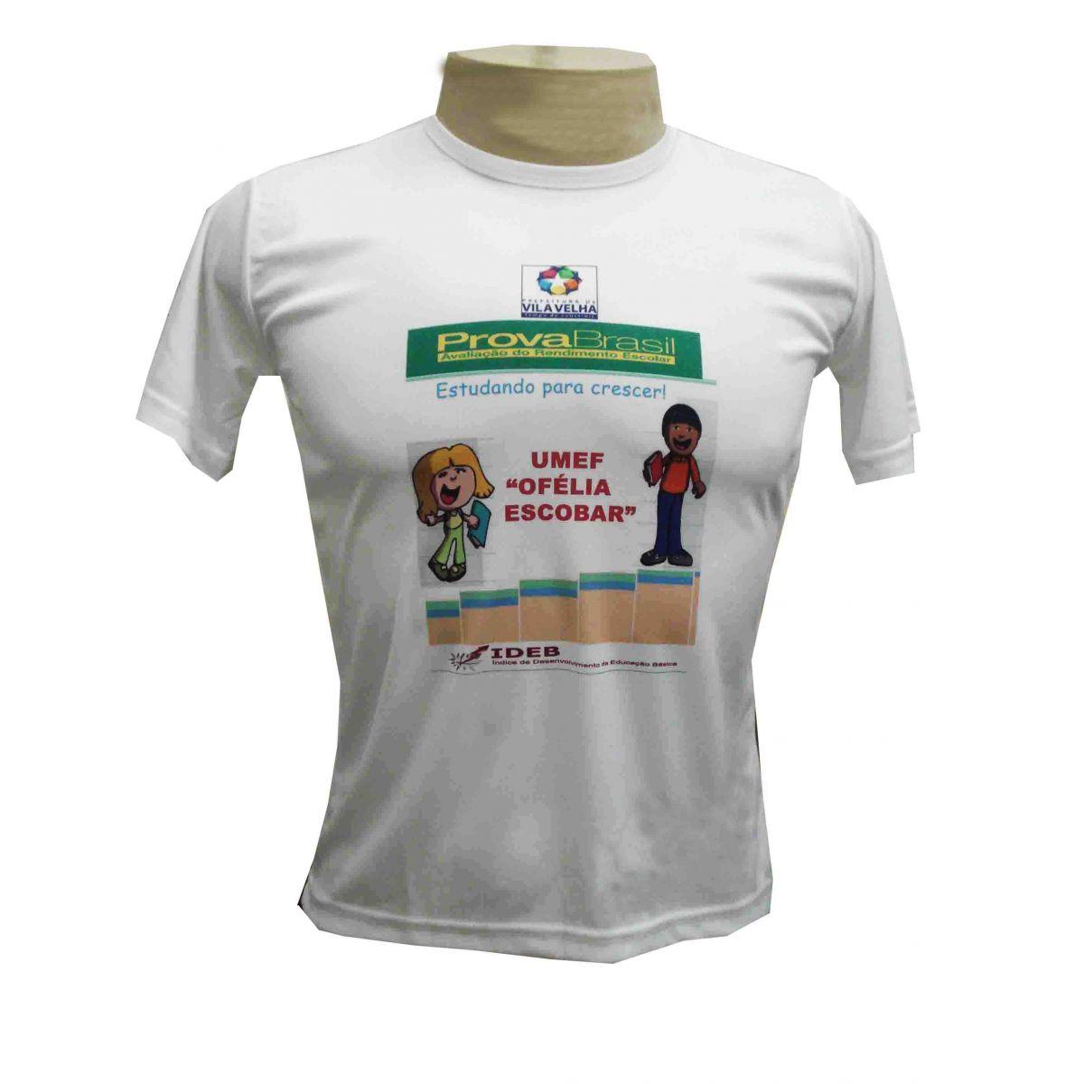 Camisa Dry Fit Adulto Personalizada