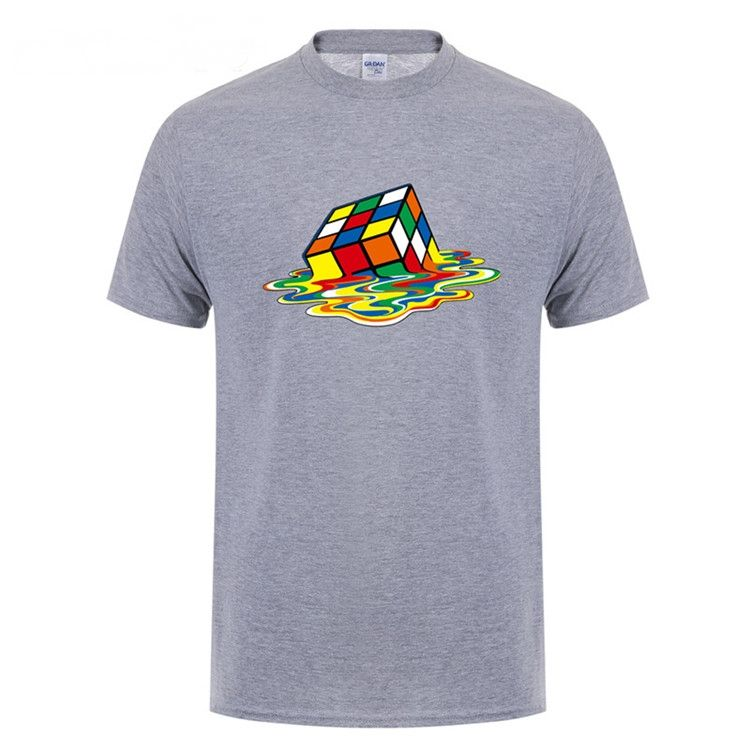 Camiseta Camisa Cubo Mágico Derretendo Sheldon Cooper do The Big Bang theory