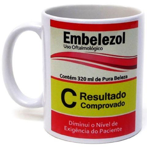 Caneca Cerâmica de 325ml Personalizada com foto ou logomarca