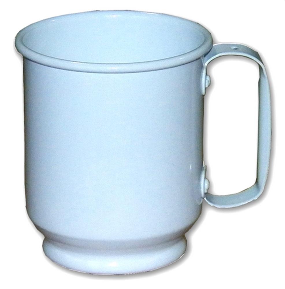 Caneca de Alumínio Branca Tipo OKTOBER FEST 500ml Personalizada