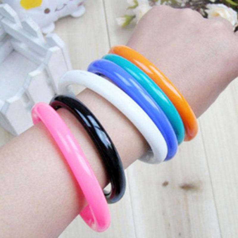 Caneta esferográfica flexível linda tipo pulseira moda escolar várias cores