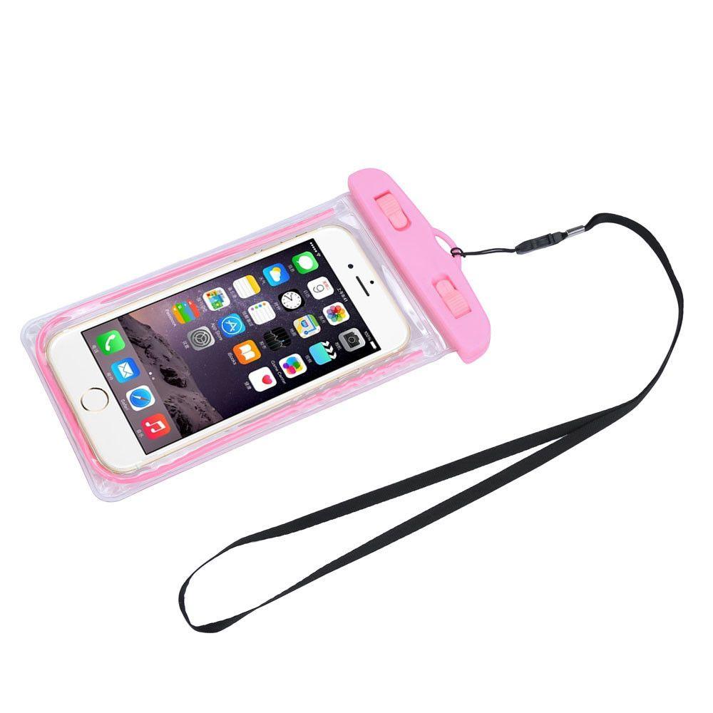 Capa Bolsa para Telefone Celular Grande À Prova D' Água Impermeável