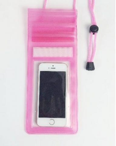 Capa bolsa plástica impermeável qualquer celular a prova d'água