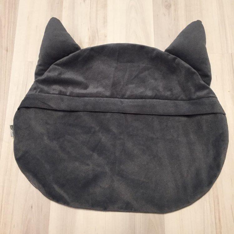 Capa de Almofada 3D Decorativa Animal Gato Sofá Cama Carro
