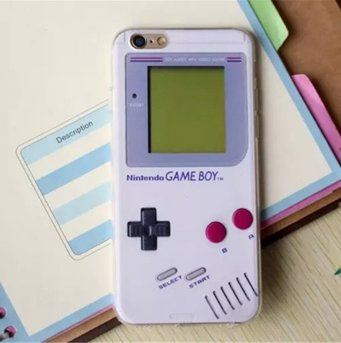 Capa de Celular Retrô Game Boy Cassete Iphone Sem Tampa para o iphone 5 5S SE