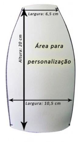 Porta Garrafa 600ml Cervegela Personalizada