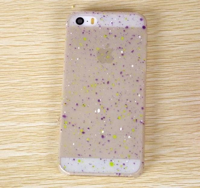 Capa luminosa para celular iPhone 5G 5S fluorescente luminosa
